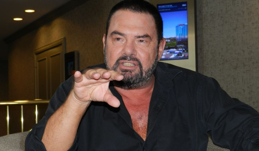 Marian Gold nel 2018
