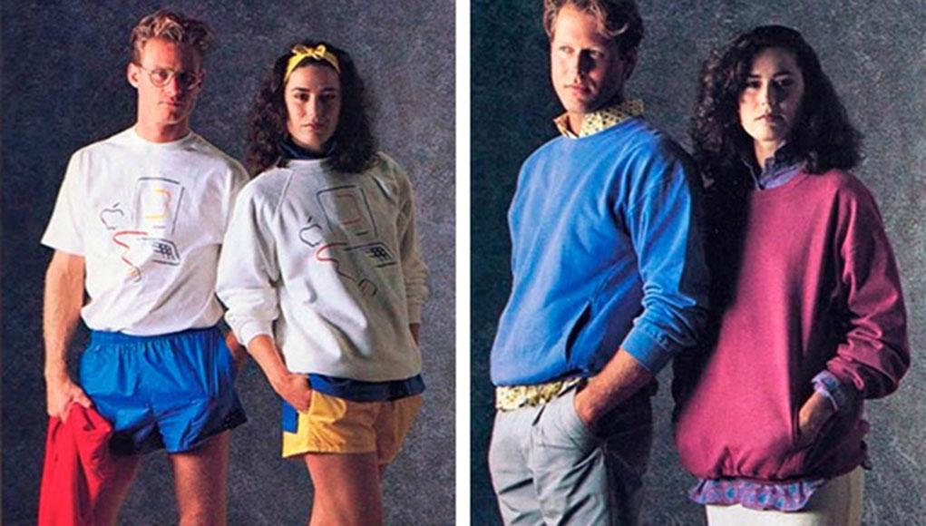 c5a4e461f5b0b8 Molti non lo sanno, ma Apple negli anni 80 si lanciò anche nella creazione  di una linea di abbigliamento!