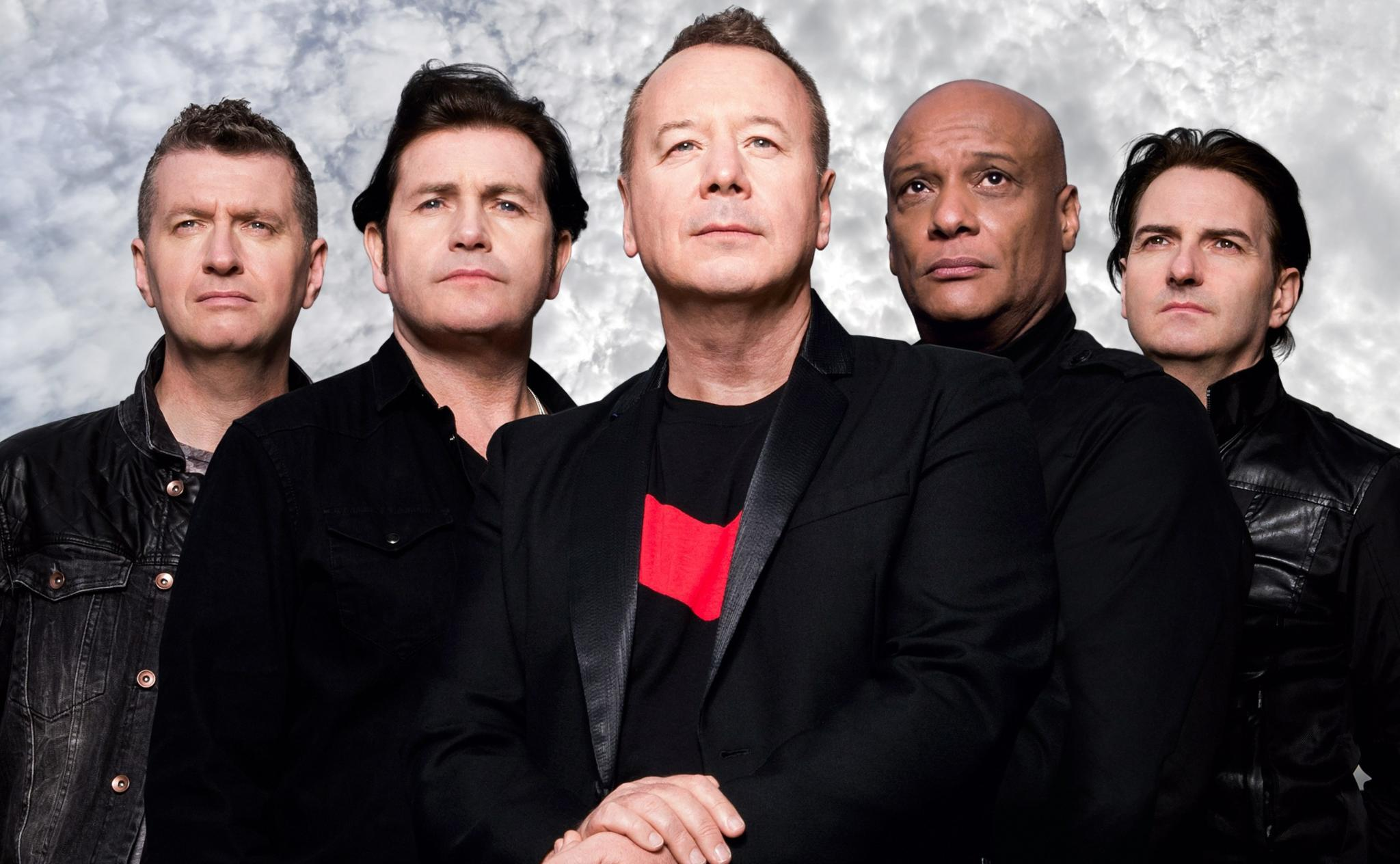 I Simple Minds nel 2018
